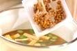 オクラ納豆汁の作り方2