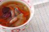 お豆のスープの作り方の手順