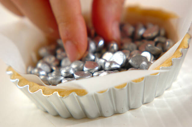 焼きチョコレートタルトの作り方の手順8