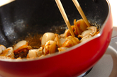 ふっくらホタテの甘辛煮の作り方3