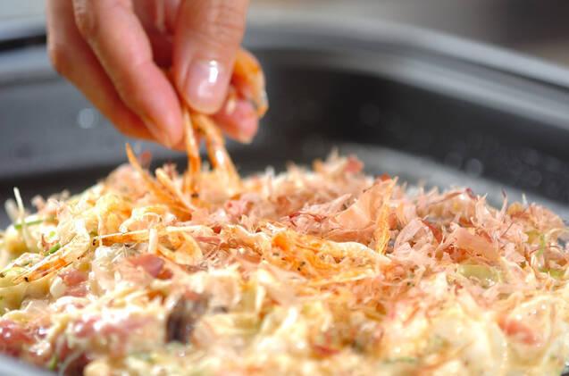 お好み焼きの作り方の手順7