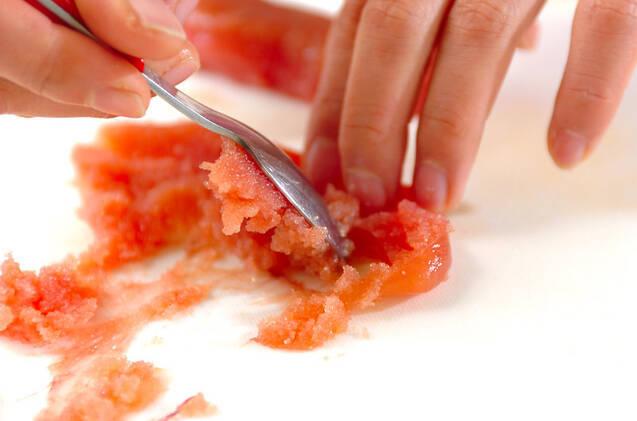 大根サラダ・タラコドレッシングの作り方の手順4