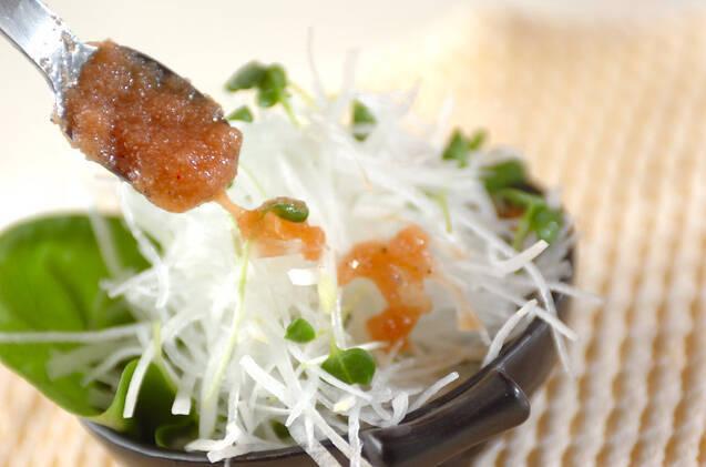 大根サラダ・タラコドレッシングの作り方の手順5