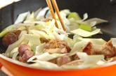 レバーのオイスターソース炒め煮の作り方2