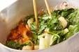 青菜とちくわの煮物の作り方2