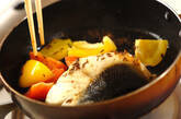 白身魚と彩り野菜のクミン焼きの作り方2