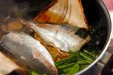 アジとニラの煮付けの作り方4