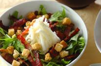 水菜と長芋のサラダ