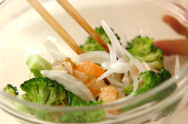 シーフードサラダの作り方の手順2
