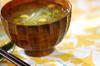大根と春雨のスープの作り方の手順