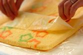 七夕ロールケーキの作り方9
