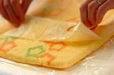 七夕ロールケーキの作り方13