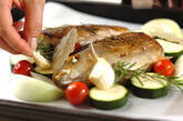 イサキと野菜のオーブン焼きの作り方8