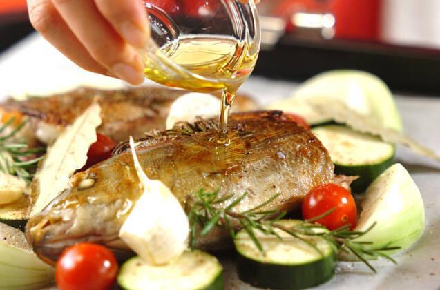 イサキと野菜のオーブン焼きの作り方の手順9