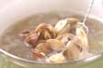 貝のみそ汁の作り方2