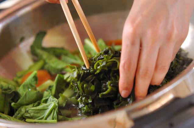 アジの煮付けの作り方の手順7