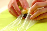 デザート生春巻きの作り方4