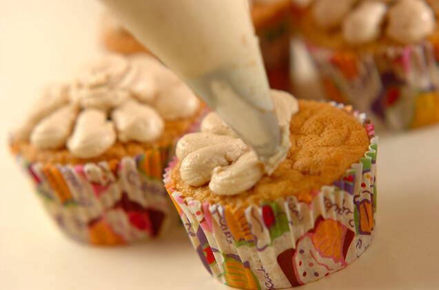 コーヒークリームカップケーキの作り方の手順11