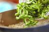 ゴーヤとジャコの炒め物の作り方の手順2