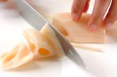 豚マヨ炒めの下準備1