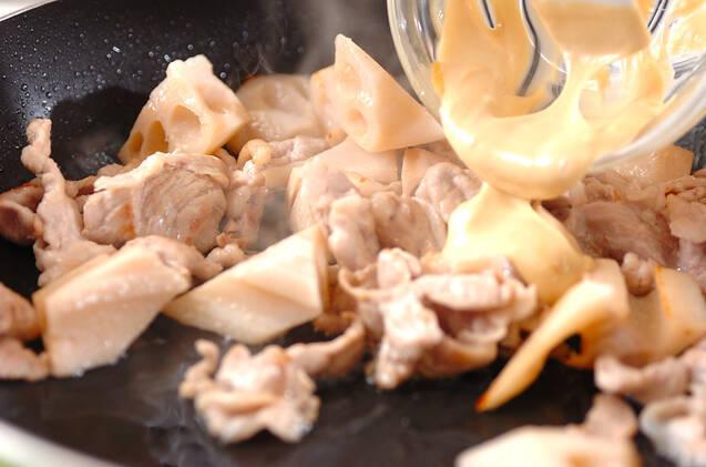 豚マヨ炒めの作り方の手順5