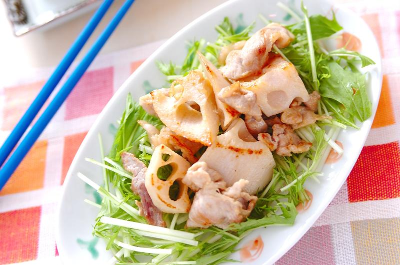 1.  豚マヨ炒め