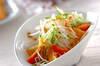韓国風サラダの作り方の手順