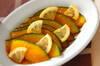 カボチャとレモンのあちゃら漬けの作り方の手順