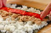 巻き寿司の作り方2