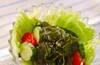 ワカメのサラダの作り方の手順