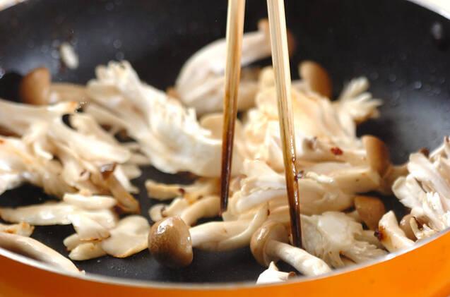 イカの昆布茶炒めの作り方の手順4