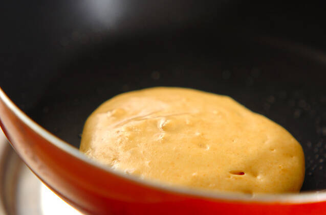 ホットケーキのイチゴ小豆のせの作り方の手順3