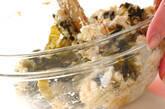 高菜の豆腐和えの作り方5