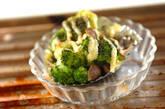 ブロッコリーとキノコのマヨ焼きの作り方2