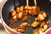イカとネギの炒め丼の作り方4