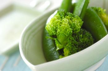 簡単蒸し野菜