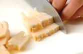 タケノコのニンニクしょうゆ炒めの作り方1