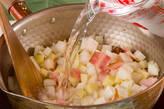 根菜のミルクみそ汁の作り方5