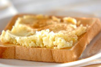 サツマイモトースト