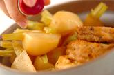 がんもどきと小カブの煮物の作り方3