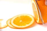 ヨーグルト・オレンジソースの下準備1