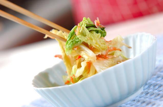 レンジ白菜の作り方の手順5