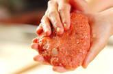 ハンバーグのトウモロコシ添えの作り方2