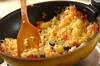 ジャコの和風チャーハンの作り方の手順2