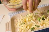 鮭ポテトのみそグラタンの作り方4