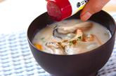 カキの粕汁の作り方4