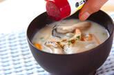 カキの粕汁の作り方9