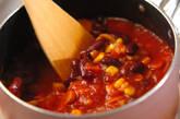 ソーセージと豆のトマト煮の作り方5