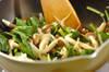 サツマイモのニョッキ クリームソースの作り方の手順6