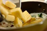 サツマイモのニョッキ クリームソースの作り方7